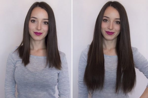 Wire Hair Extensions 40cm 140g-0