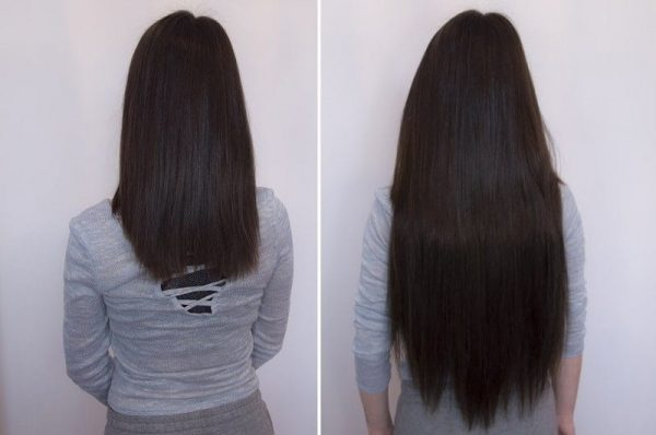 Wire Hair Extensions 55cm 160g-645