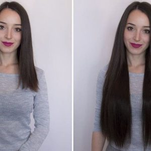 Wire Hair Extensions 55cm 160g-0