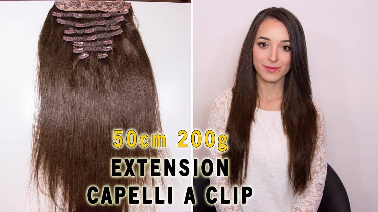 Clip-in extensions 50cm 200g
