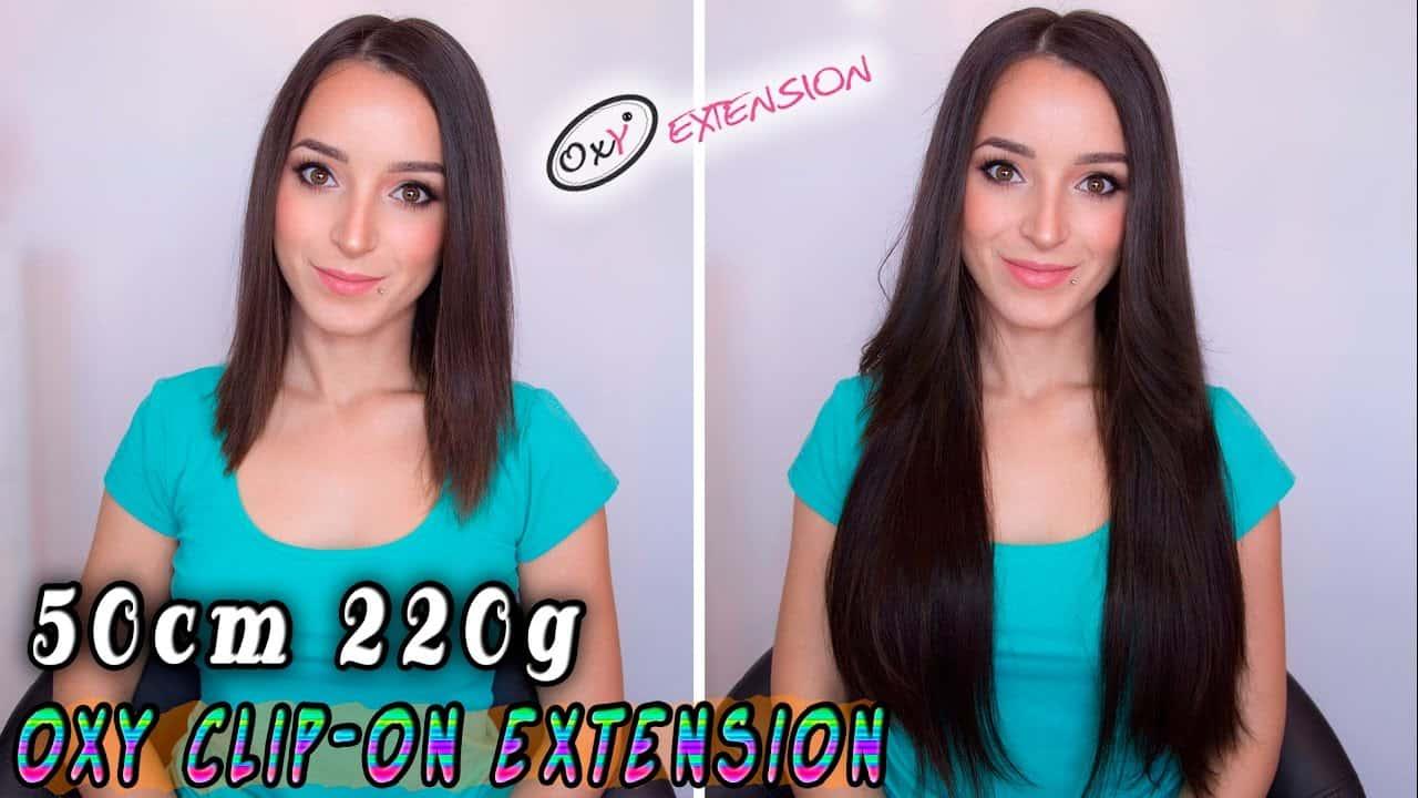 Premium Clip-in extensions 50cm 220g