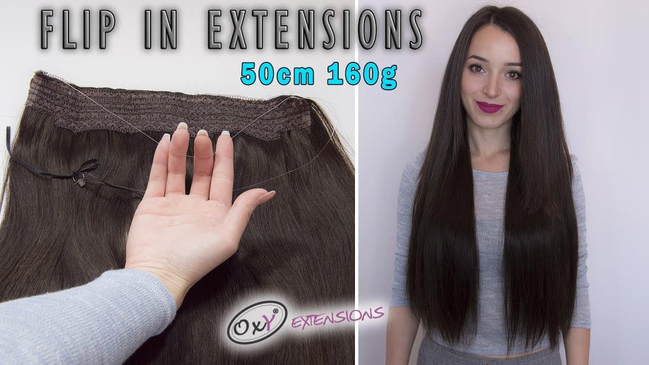 Premium wire hair extensions  55cm 160gr